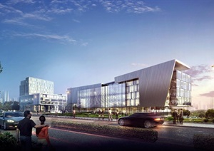 重庆一个童装产业园区规划设计