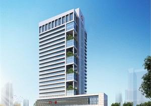 某市人民医院综合楼方案