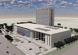 丹阳市中医院规划设计方案